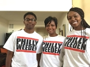 PHILLY WEEDEN printed tee (wht)