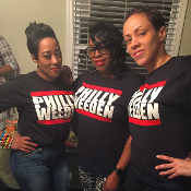 PHILLY WEEDEN printed tee (blk)